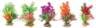 Изк.растение върху камъчета Deco Flora 20 см
