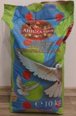 Космонавт - храна за декоративни гълъби 10 кг.