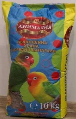Космонавт - храна за средни папагали 10 кг.
