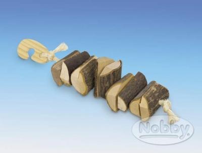 """Играчка за гризачи """"Wooden Chain"""" 25 см"""