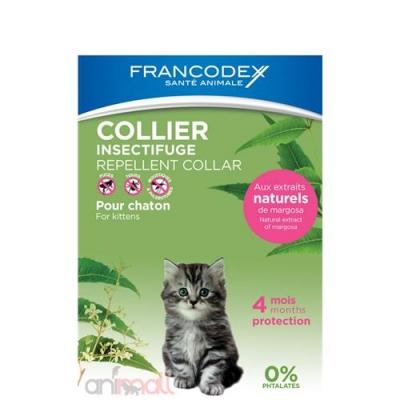Репелентнa каишкa за малки котенца Francodex