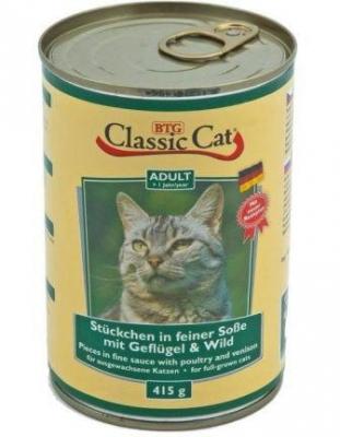 Classic Cat 415 гр пиле и дивеч