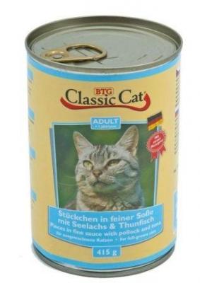 Classic Cat 415 гр треска и риба тон