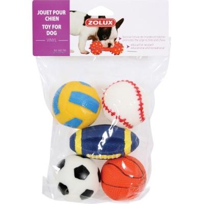 Комплект винилови топки 6 см