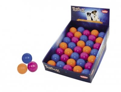 Гумени твърди топки 5 см разл.цветове