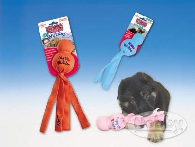 "Играчка ""Kong Puppy Wubba"" assorted colours"