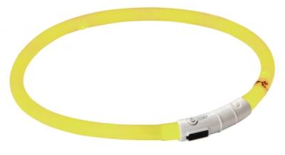 Нашийник светещ Kerbl Maxi Safe Led 55 см жълт