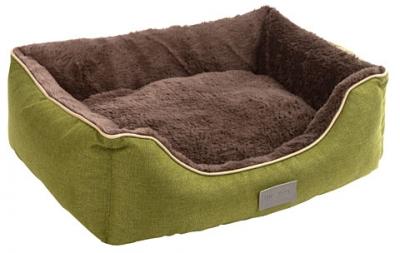 Легло Kerbl Samuel 50/40/15 см зелено/кафяво