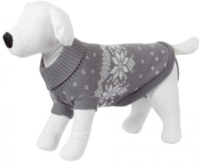 Пуловер Lillehammer сиво-бял 25 см Kerbl
