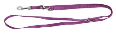 Повод тренировъчен Miami purple 15 мм,200 см
