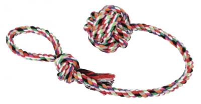 Пам.цветно въже 53 см с въжена топка 6 см Kerbl