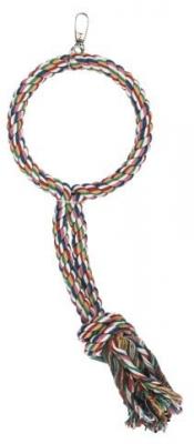Люлка с пам.въже за папагал 45 см