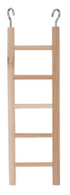 Дървена стълба 5 реда 24 см Kerbl