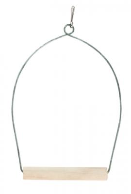 Люлка арка с дървена кацалка 10/20 см