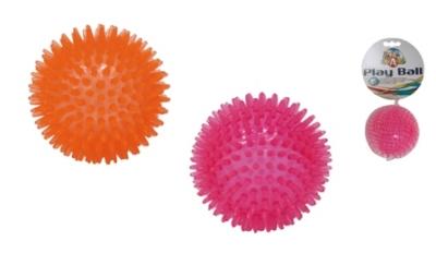 Гумена дентална топка 8 см различни цветове