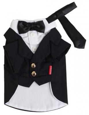 Фрак Black white Tuxedo