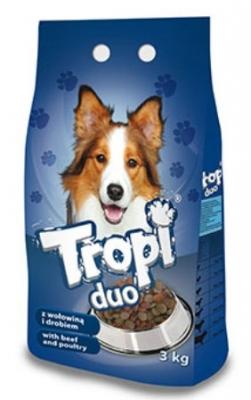 Tropi Duo - говеждо и пилешко 3 кг
