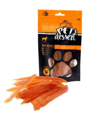 PET'S DESSERT Лентички от пилешко месо 80 гр