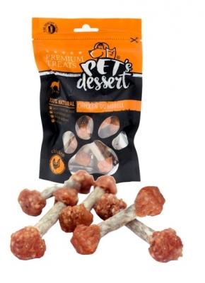 PET'S DESSERT Пилешки дъмбели 80 гр