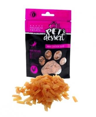 PET'S DESSERT Фини резенчета от пилешко месо 50 гр