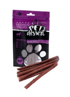 PET'S DESSERT Пръчици от агнешко месо 80 гр