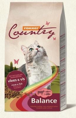 Храна за котки COUNTRY CAT BALANCE 10 KG ГОВ/РИБА 30/10