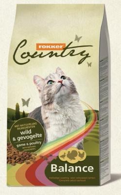 Храна за котки COUNTRY CAT BALANCE 10 KG ДИВЕЧ/ПИЛЕ 30/10