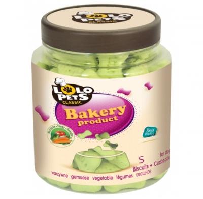Бисквитки Vegetable буркан 210 грама S-size