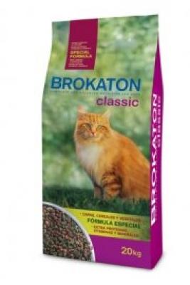 Brokaton Classic Cat Beef&Chicken 20 кг 26/10