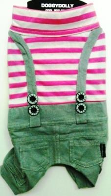 Комплект розова тениска със сив панталон