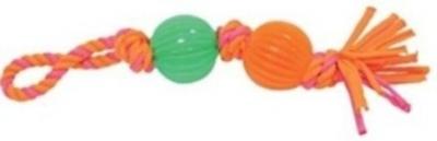 Пам.въже 33 см с две топки 5.5 см
