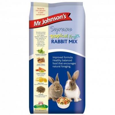 Mr Johnson's Supreme Rabbit Tropical fruit 15кг
