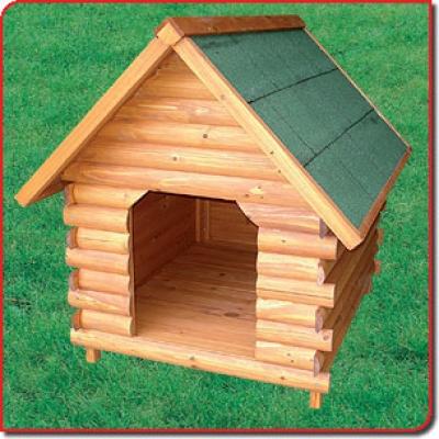 """Къща дървена за Кучета """"MENELAO"""" 74.5x83.5xh81 см"""