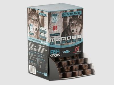 Лакомство за куче 4x10гр пръчици 48 бр в кутия