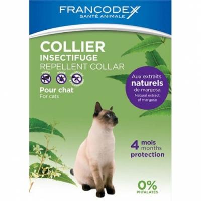 Репелентнa каишкa за котки Francodex