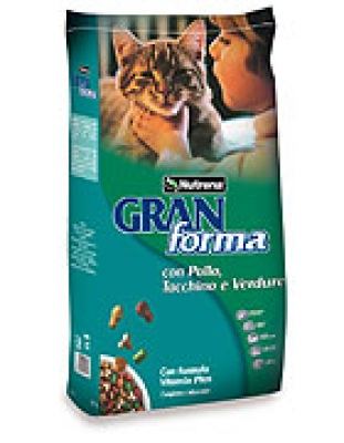 Gran Forma Cat 20 кг Пиле , пуйка и зел.