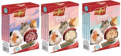 Vitapol дропс за гризачи 75 грама
