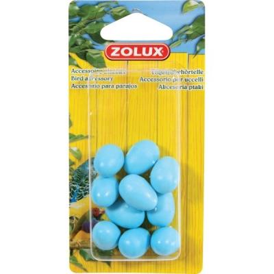 Изкуствени яйца за канари 10бр