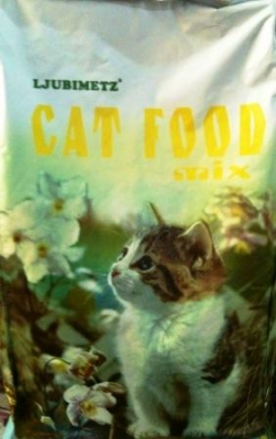 Любимец 10 кг микс /коте/