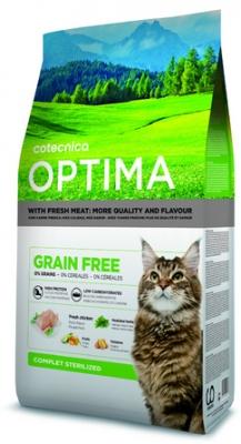 Optima GRAIN FREE Sterilised Cat 1 kg