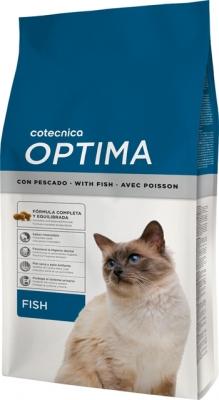 Optima Cat Fish 1.5 kg Храна за котки