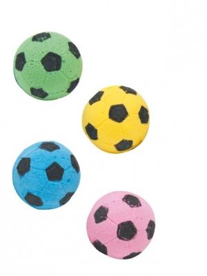 Играчки за коте гъбени Football 3.5 см