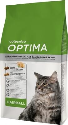 Храна за котки Optima Cat Hairball 1.5 кг 30/14