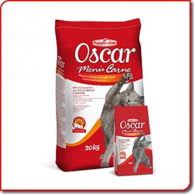 Oscar cat 20кг микс меса
