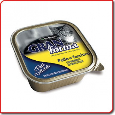 Gran Forma Cat пастет 100 гр пиле/пуйка