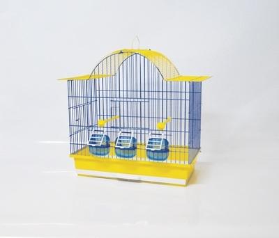 Клетка за птици 46/28/50 см - овален покрив