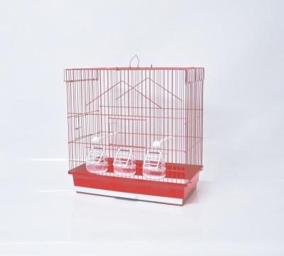 Клетка за птици 46/28/50 см - равен покрив