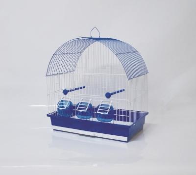 Клетка за птици 46/28/50 см - объл покрив