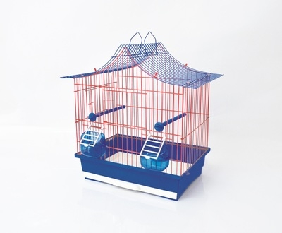 Клетка за птици 36/28/48 см извит покрив