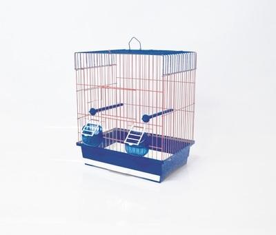 Клетка за птици 36/28/42 см - равен покрив